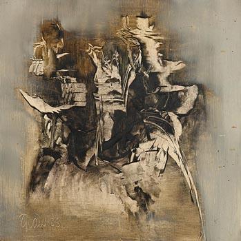 Gerald Davis, Ancient Forms I (1985) at Morgan O'Driscoll Art Auctions