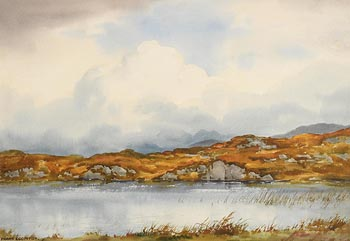 Frank Egginton, A Connemara Lough (1964) at Morgan O'Driscoll Art Auctions