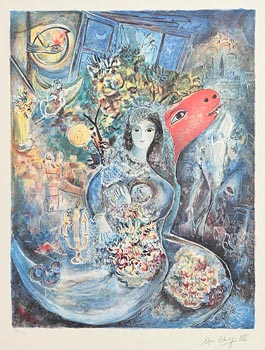 Marc Chagall, Chagall's Bella at Morgan O'Driscoll Art Auctions