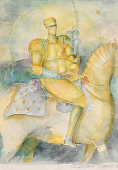 Elizabeth Taggart, Knight on a Horse at Morgan O'Driscoll Art Auctions