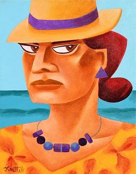 Graham Knuttel, Purple Gems at Morgan O'Driscoll Art Auctions