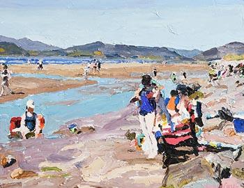 Stephen Cullen, Rossbeigh Beach at Morgan O'Driscoll Art Auctions
