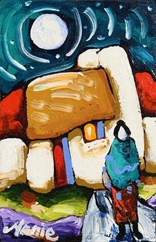 Annie Robinson, Moonlight at Morgan O'Driscoll Art Auctions