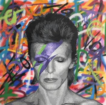 LA Hart, Ziggy Stardust (2018) at Morgan O'Driscoll Art Auctions