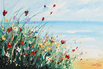 Lorna Millar, Bank of Flowers at Morgan O'Driscoll Art Auctions