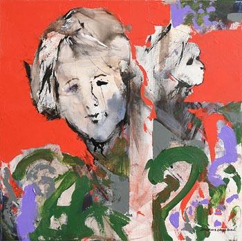 Denis Orme Shaw, Head Study at Morgan O'Driscoll Art Auctions