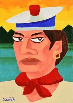 Graham Knuttel, The Sailor at Morgan O'Driscoll Art Auctions