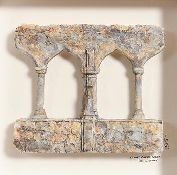 Lucy Butler, Clontuskert Abbey, Co Galway at Morgan O'Driscoll Art Auctions