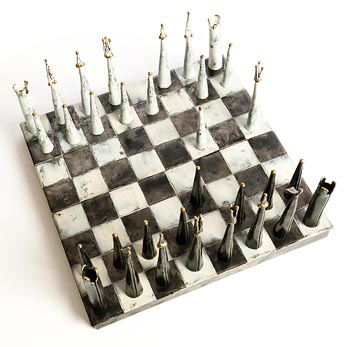 Paddy McCormack, Gothic Chess Set (2013) at Morgan O'Driscoll Art Auctions