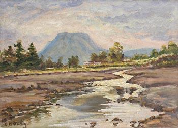 Charles J. McAuley, Riverscape at Morgan O'Driscoll Art Auctions