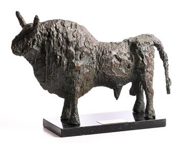 John Behan, Bull (1974) at Morgan O'Driscoll Art Auctions