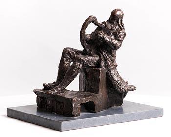 Melanie Le Brocquy, Carolan's Receipt (1992) at Morgan O'Driscoll Art Auctions