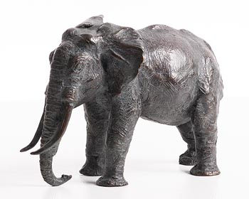 Jean Lemonnier, Elephant at Morgan O'Driscoll Art Auctions