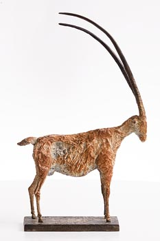 Cheryl Brown, Long Horned Goat at Morgan O'Driscoll Art Auctions