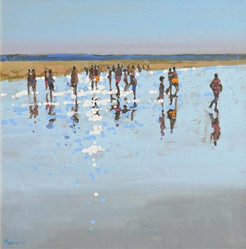 John Morris, August, Ballybunion at Morgan O'Driscoll Art Auctions