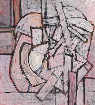 Nevill Johnson, Inevitable Kitchen Figure (1995) at Morgan O'Driscoll Art Auctions