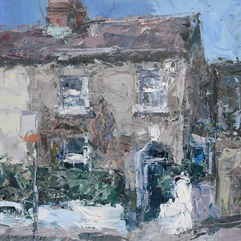 Aidan Bradley, House, Clarement St. (2009) at Morgan O'Driscoll Art Auctions