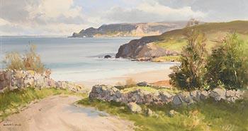 Maurice Canning Wilks, At Cushendun, Co. Antrim at Morgan O'Driscoll Art Auctions