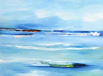 Majella O'Neill Collins, Dock Seas (2018) at Morgan O'Driscoll Art Auctions