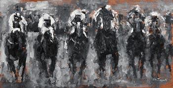 John Fitzgerald, Final Furlong at Morgan O'Driscoll Art Auctions