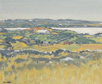 Maurice MacGonigal, Connemara Homestead at Morgan O'Driscoll Art Auctions
