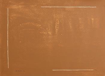 William Scott, Brown Field Defined (1972) at Morgan O'Driscoll Art Auctions