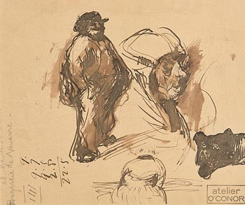Roderic O'Conor, Figure Study at Morgan O'Driscoll Art Auctions