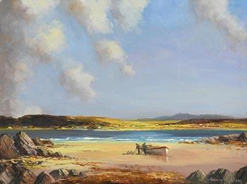 Norman J. McCaig, Lobster Boatmen at Morgan O'Driscoll Art Auctions