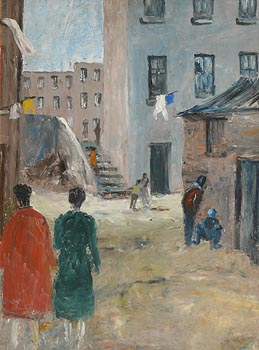 Seamus O'Colmain, The Liberties at Morgan O'Driscoll Art Auctions
