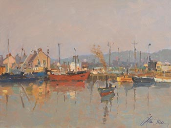 Liam Treacy, Silvery Morning at Morgan O'Driscoll Art Auctions
