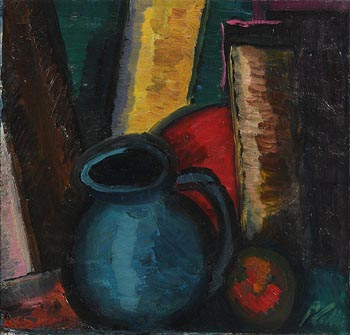 Peter Collis, The Blue Jug at Morgan O'Driscoll Art Auctions