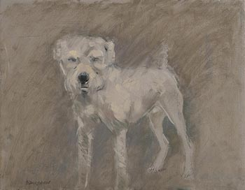 Basil Blackshaw, Terrier at Morgan O'Driscoll Art Auctions