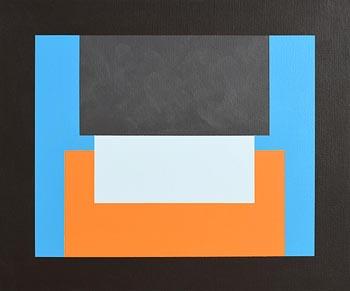 Philip Flanagan, Passing Shower, Kearney, Co. Down (2012) at Morgan O'Driscoll Art Auctions