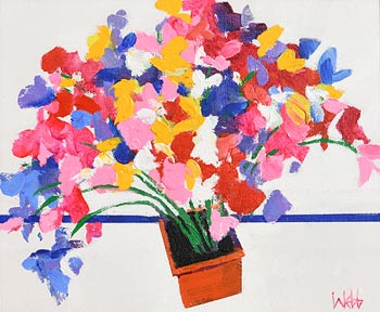 Kenneth Webb, Sweet Peas at Morgan O'Driscoll Art Auctions