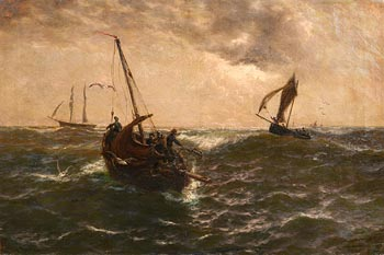 Thomas Rose Miles, Reaching the Fishing Grounds at Morgan O'Driscoll Art Auctions