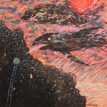 Michael Mulcahy, The Flying Fish at Morgan O'Driscoll Art Auctions
