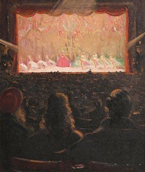 Patrick Leonard, Theatre Interior, Ballet Scene at Morgan O'Driscoll Art Auctions