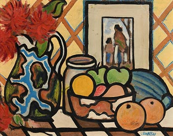 Markey Robinson, Still Life with Fruit at Morgan O'Driscoll Art Auctions