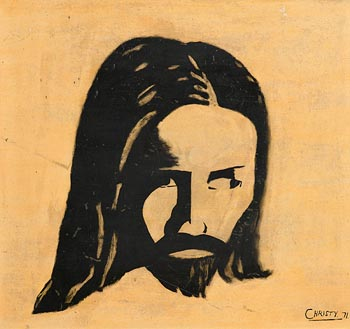 Christy Brown, Christ (1971) at Morgan O'Driscoll Art Auctions
