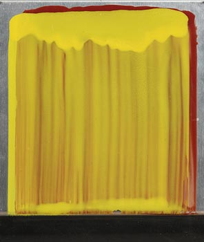 Ciaran Lennon, Yellow on Red Lens at Morgan O'Driscoll Art Auctions