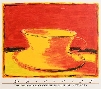 Neil Shawcross, Yellow Cup and Saucer 2000 at Morgan O'Driscoll Art Auctions