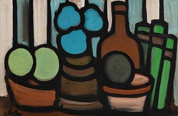 Markey Robinson, Still Life on Tabletop at Morgan O'Driscoll Art Auctions