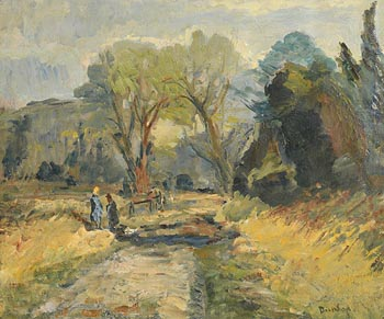 Ronald Ossory Dunlop, Path to the Farm, Arundel at Morgan O'Driscoll Art Auctions