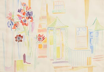 Fr. Jack P. Hanlon, View from the Window (1964) at Morgan O'Driscoll Art Auctions