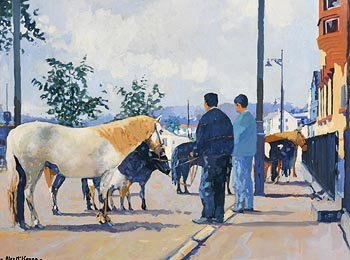 Alex McKenna, The Horse Fair at Morgan O'Driscoll Art Auctions