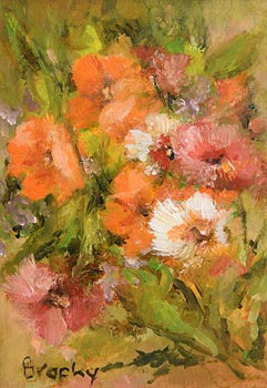 Elizabeth Brophy, Mixed Flowers at Morgan O'Driscoll Art Auctions
