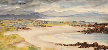 Fergus O'Ryan, Dogs Bay, Connemara at Morgan O'Driscoll Art Auctions