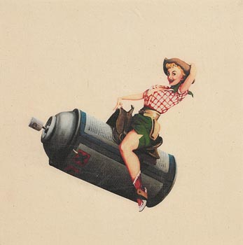 Banksy, Ride Em Cowgirl at Morgan O'Driscoll Art Auctions