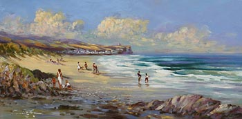 William Cunningham, Portstewart Strand at Morgan O'Driscoll Art Auctions
