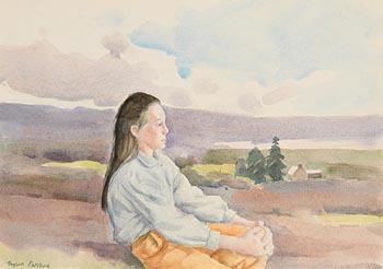 Robert Taylor Carson, Pensive at Morgan O'Driscoll Art Auctions